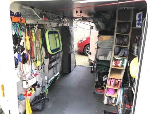 Wohnmobil Garage einrichten – Ordnung schnell und leicht