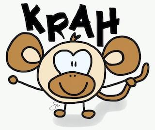 Affe_Krah