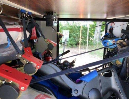 Befestigungen Garage Decke u. Wand – Wohnmobil – Wohnwagen