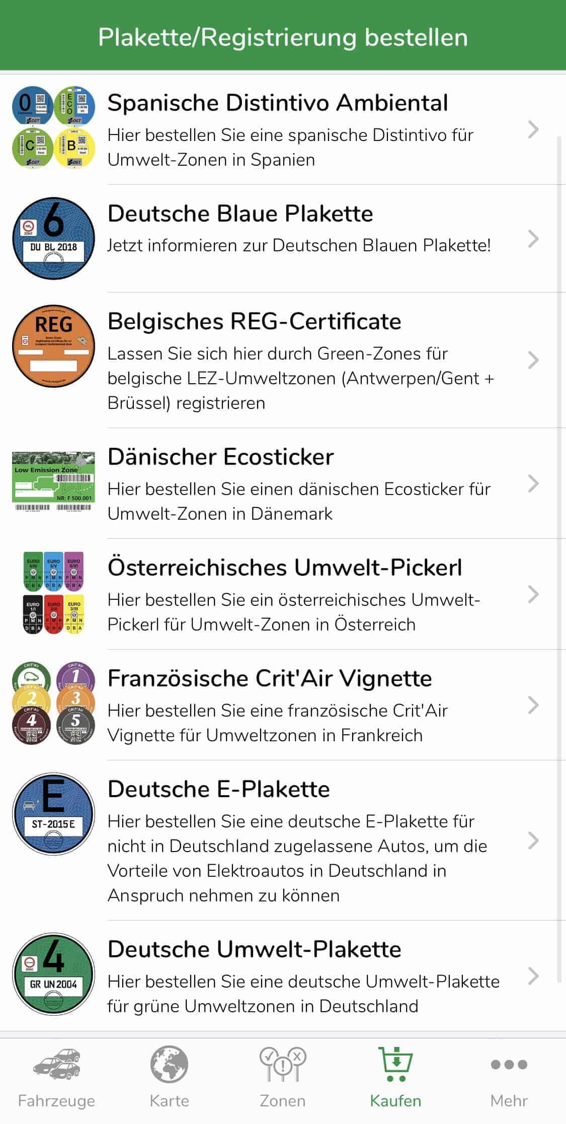App_Green_Zones_Vignette_Umweltzone_kaufen