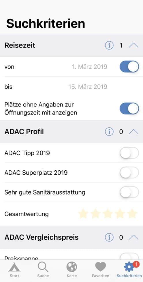 Apps_Öffnungszeiten_ADAC_Camping