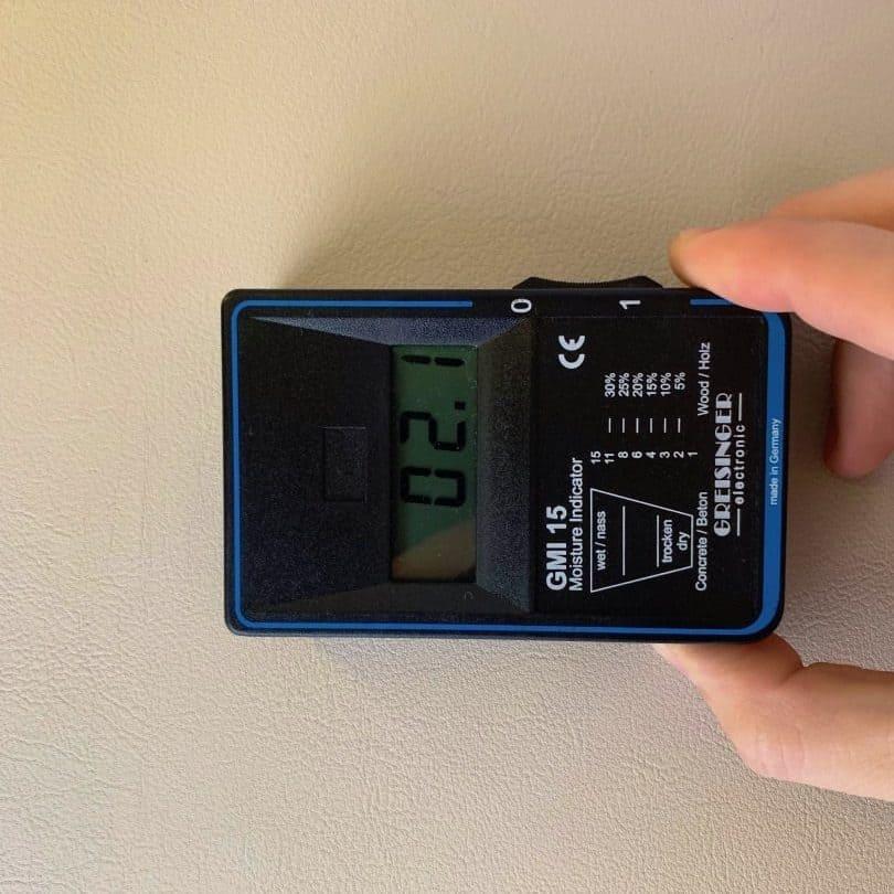BMI15 Feuchtigkeitsmessung Innenwand