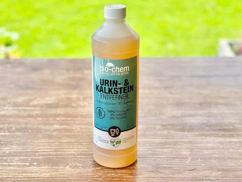 Bio-chem-Camping-Toilette-Kassette-Urinstein-Kalkstein-Loeser-und-Reiniger