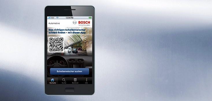 Bosch Scheibenwischer App