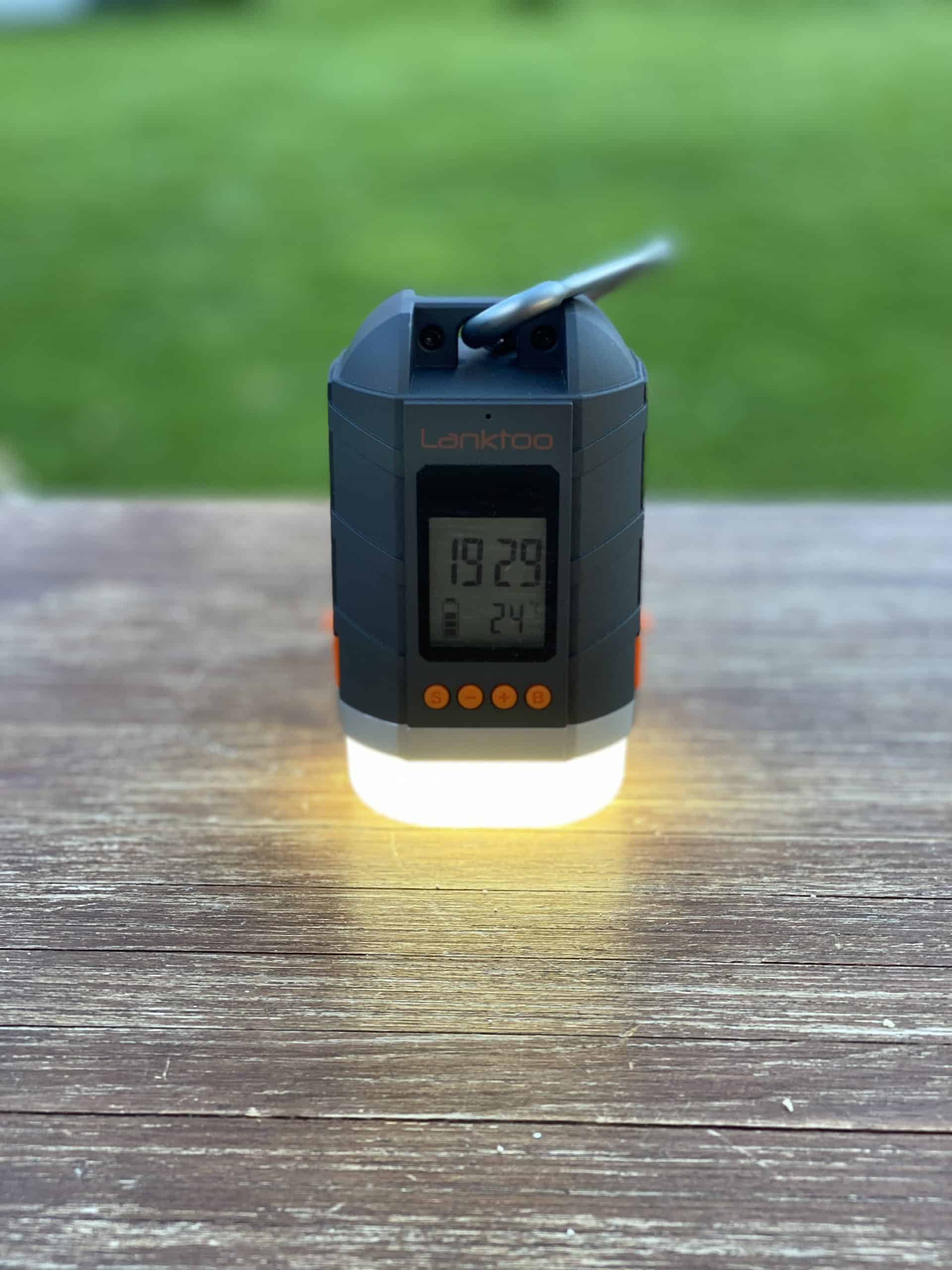 Camping_LED_Licht_Lanktoo_LED_Camping_Abend