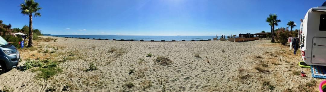 Camping Merendella Strand
