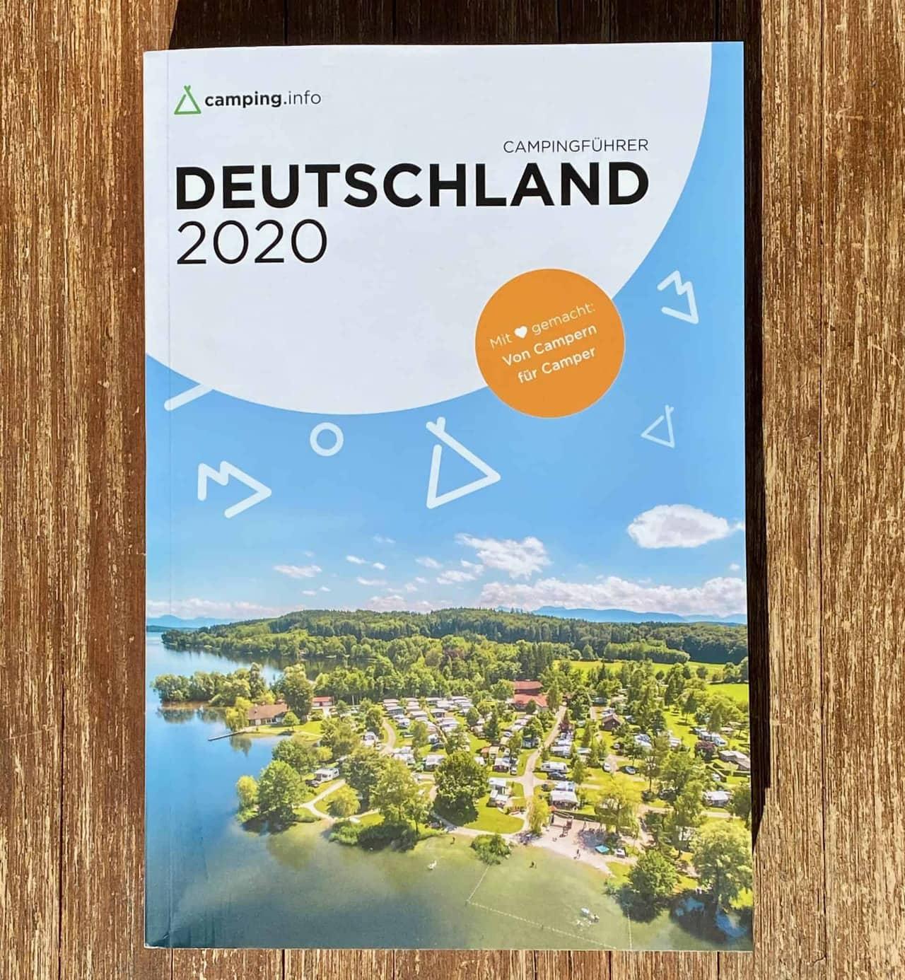 Campinginfo_Campingführer_Deutschland_2020_Titelseite