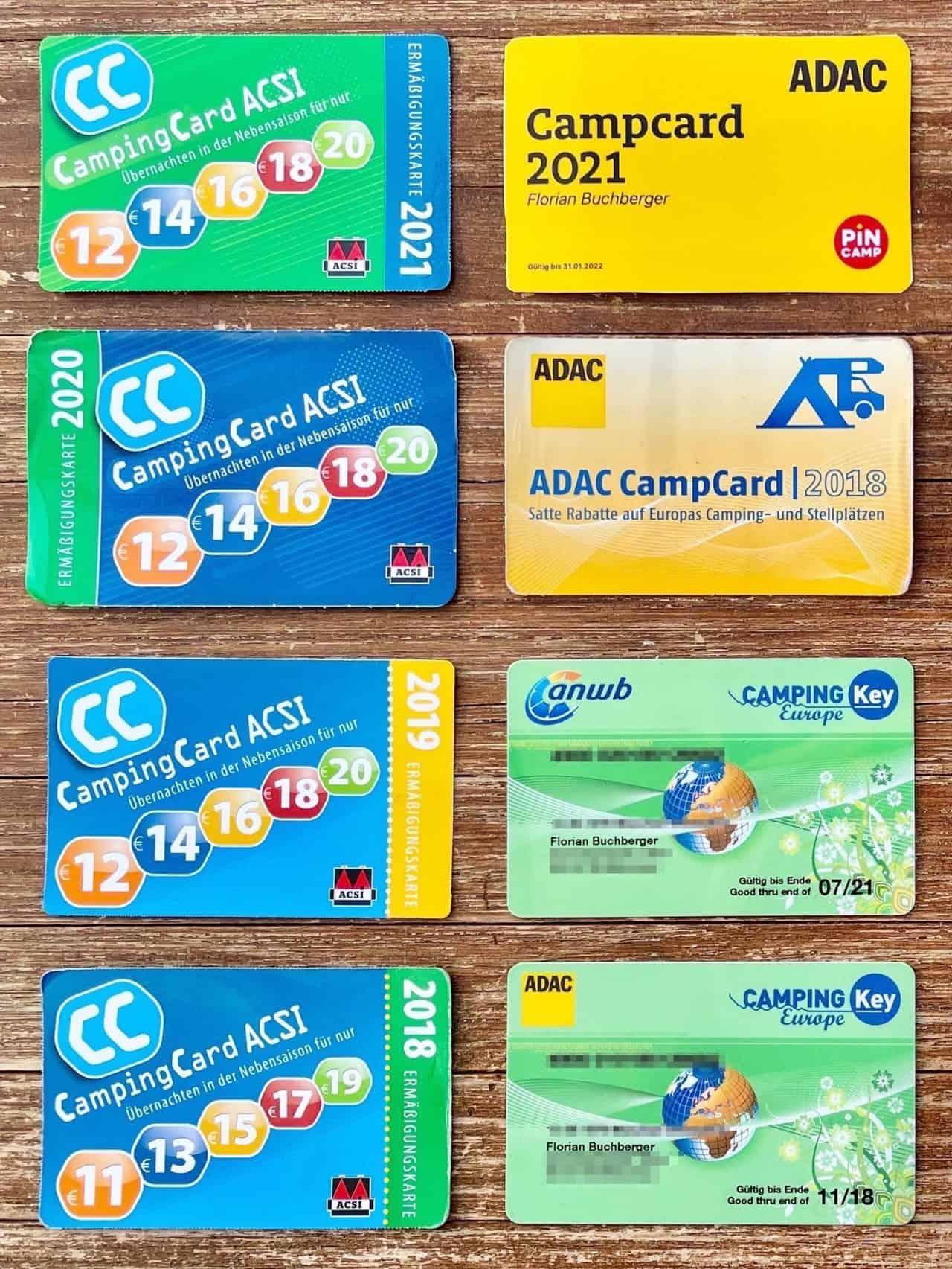 Campingkarten-ACSI-ADAC-CKE