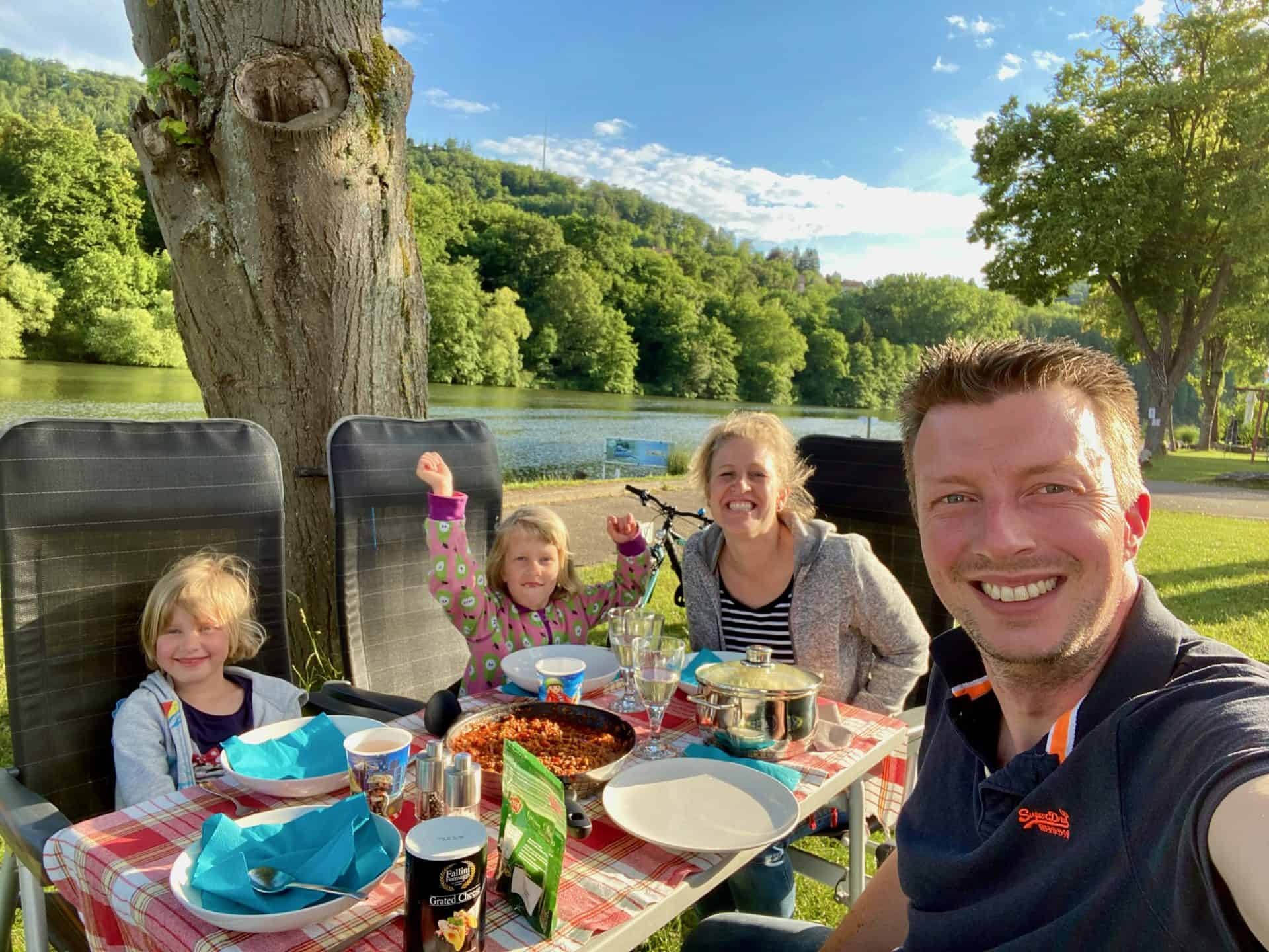 Campingplatz-Fortuna-Neckar_Abendessen