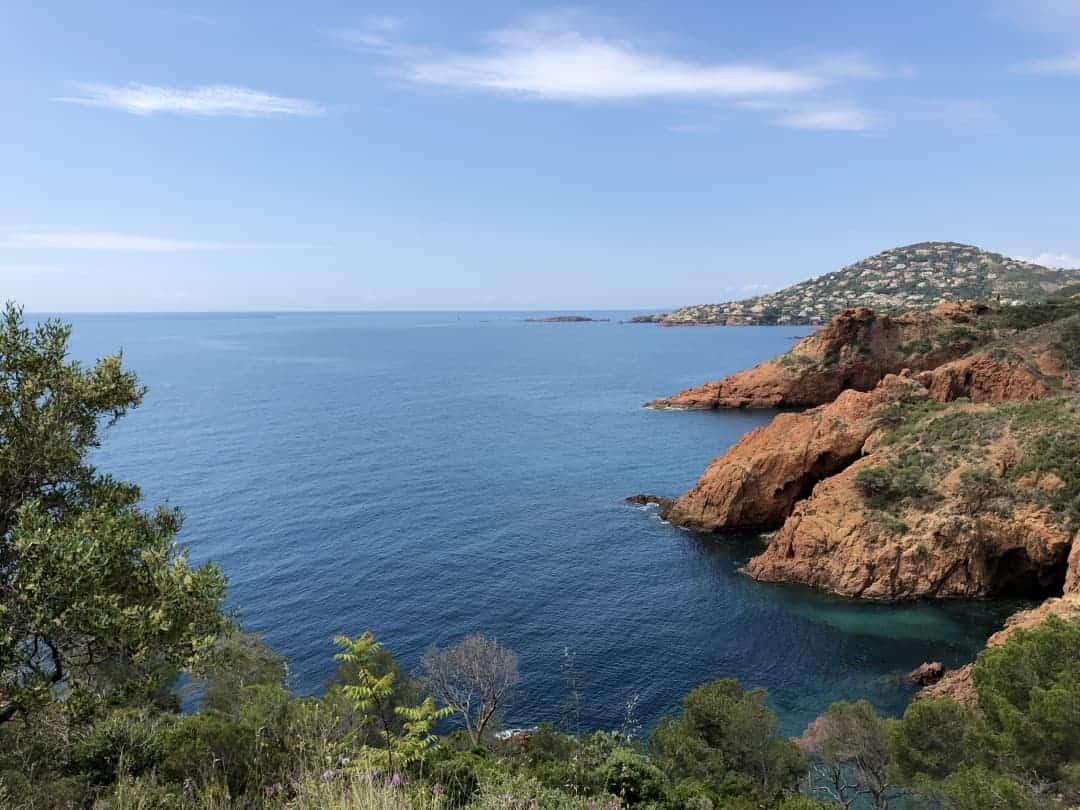 Cote d Azur Bucht
