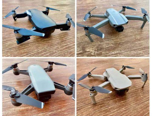 Drohnen DJI Mavic Air 1/2 vs Spark vs Mavic Mini 1/2