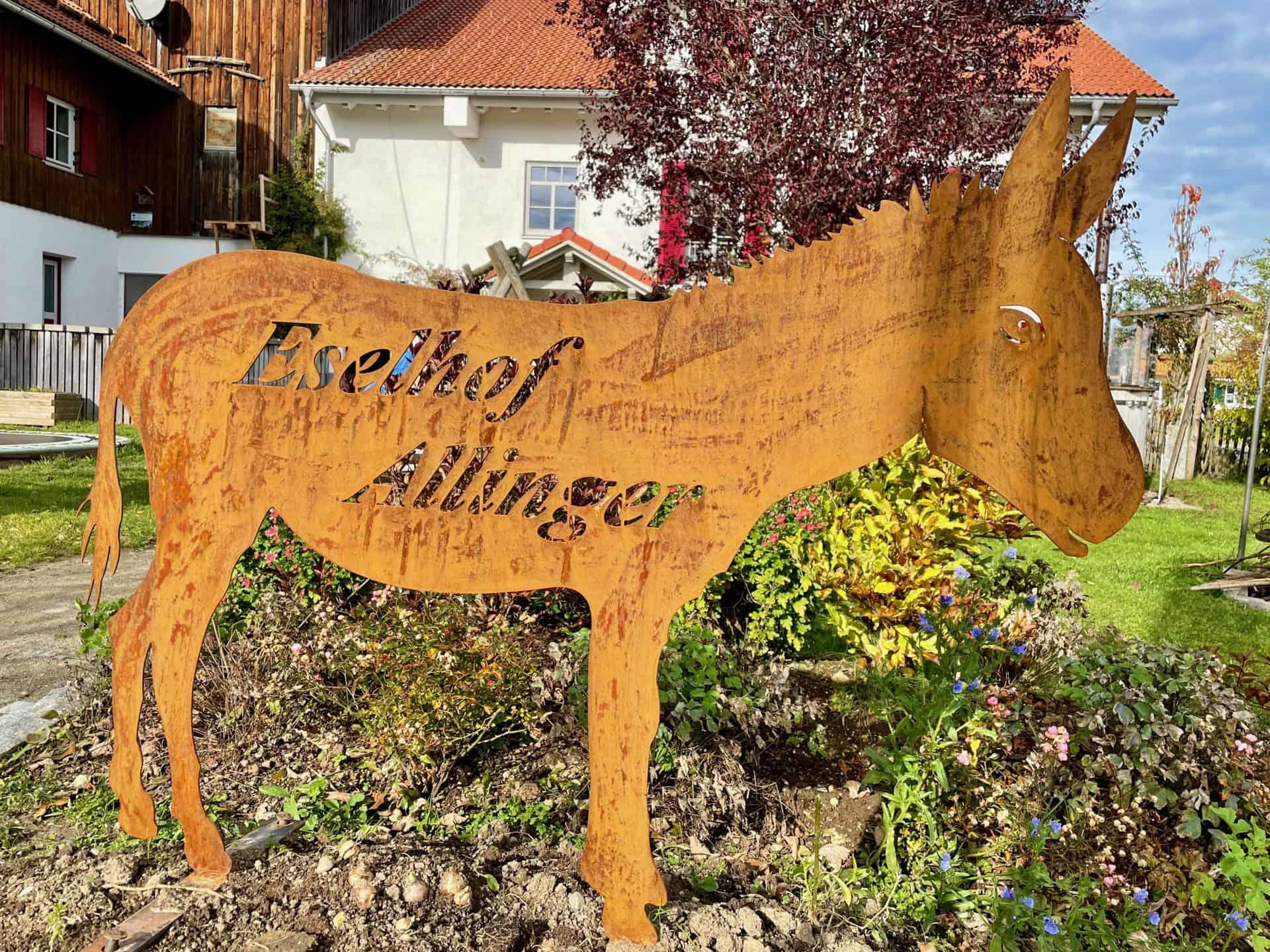 Eselhof-Allinger-Schild