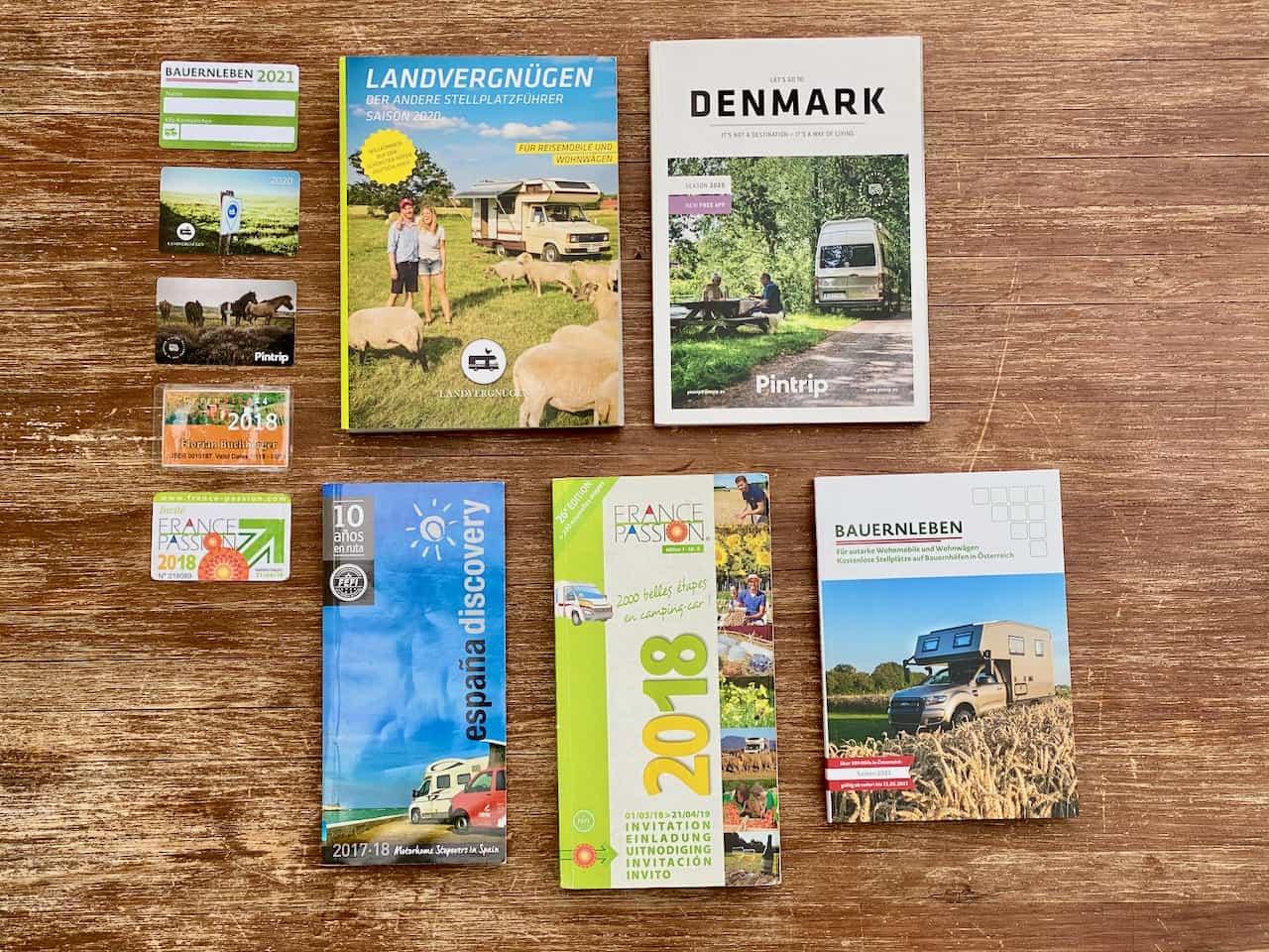 Etappenführer-Landvergnügen-Bauernleben-France-Passion-Printrip-Espana-Discovery-Greenstop24