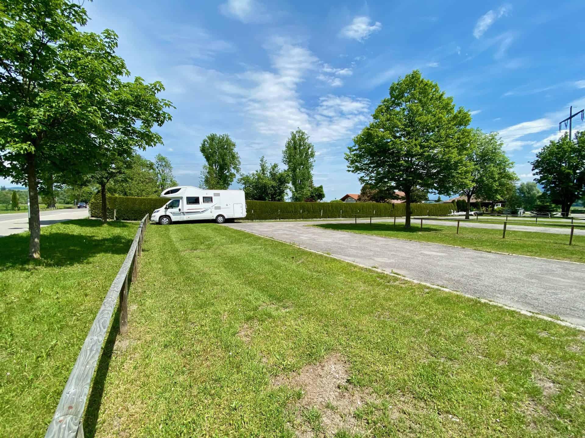 Forggensee_Parkplatz_Bootshafen