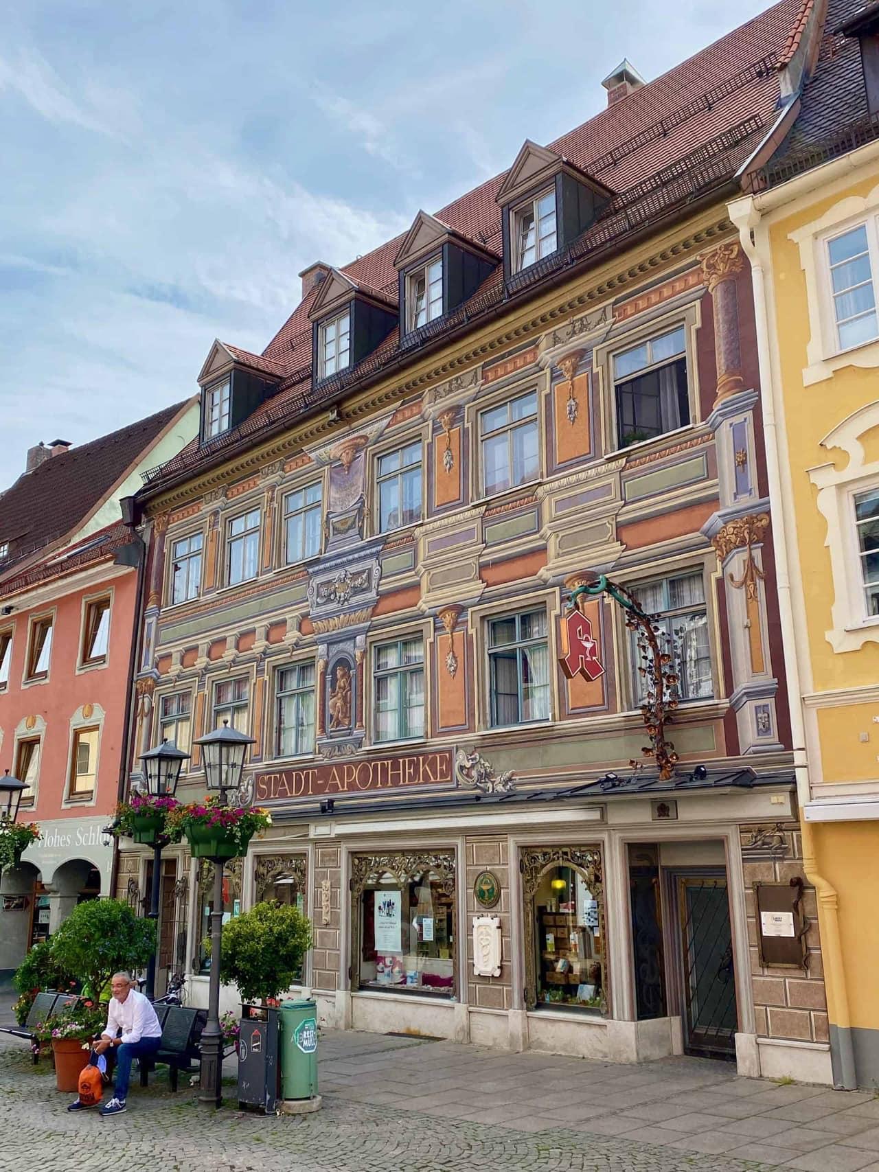 Füssen_Innenstadt_Stadt_Apotheke