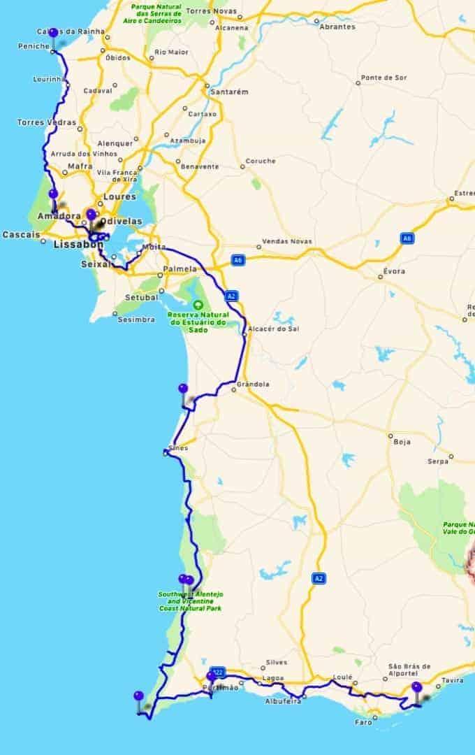 GPS Tracks 19 06 2018 28 06 2018