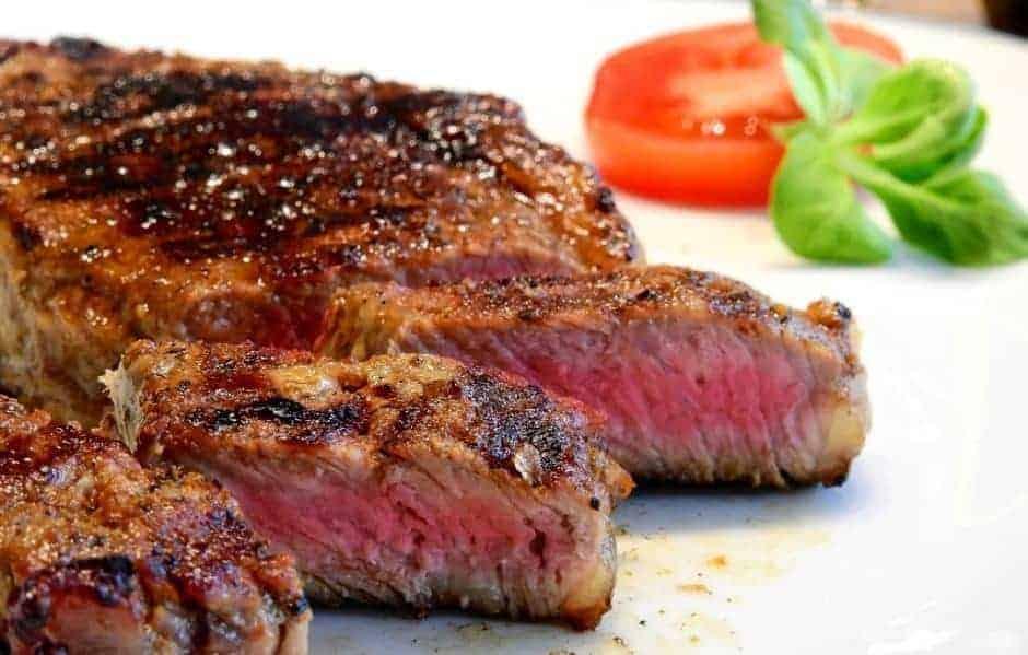 Gasgrill Steak