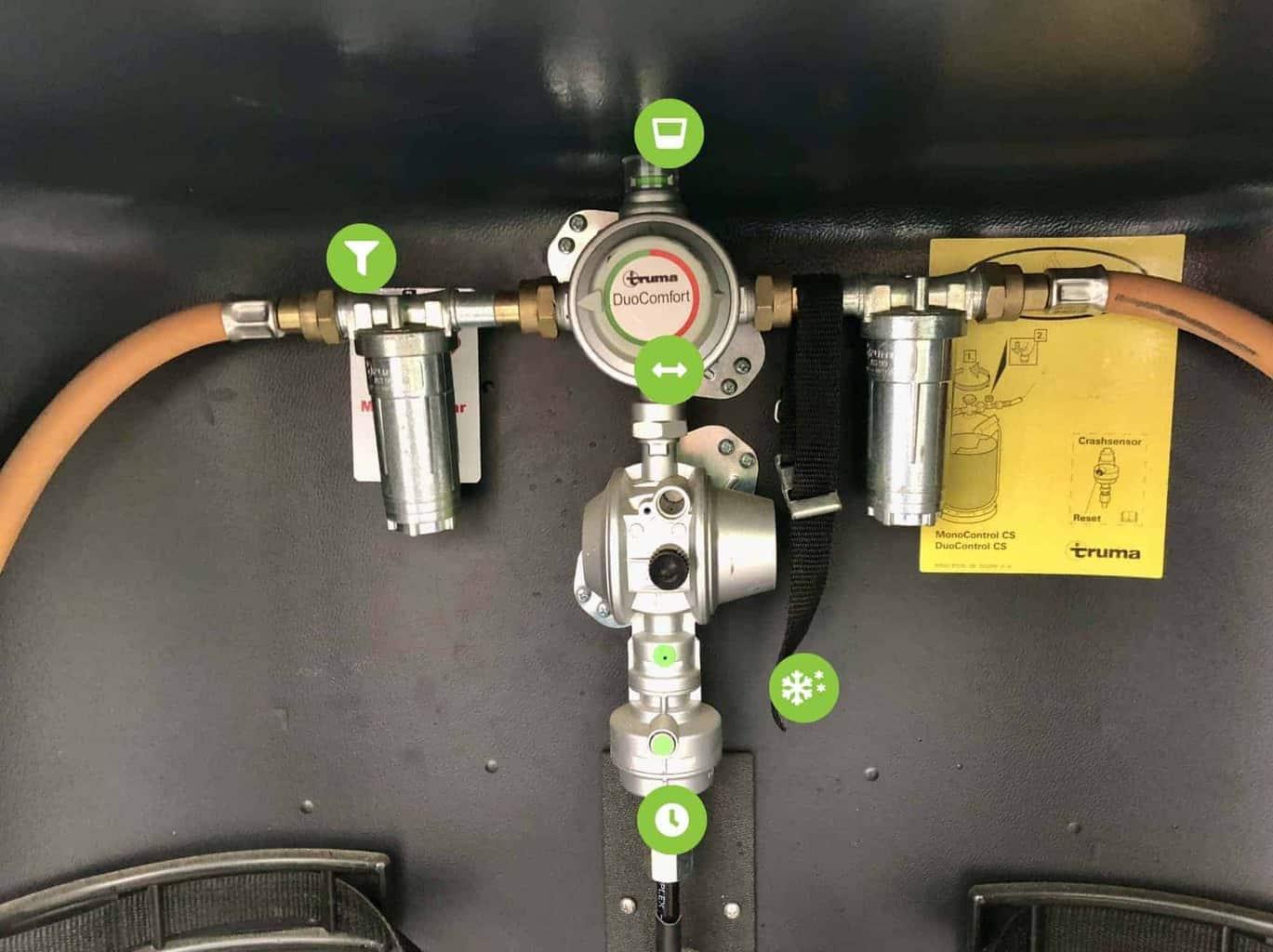 Gasprobleme_erkennen_und_lösen_mit_21_Erstmaßnahmen_Gasdruckregler_Beschriftung