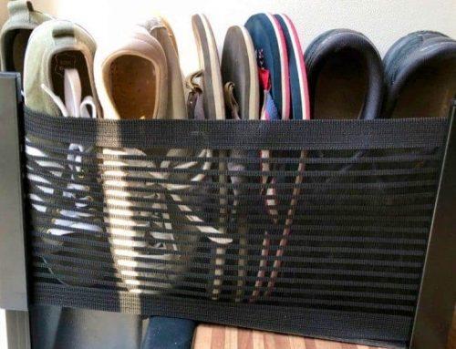 Netze für Schuhe, Spielsachen und Kleinkram im Camper