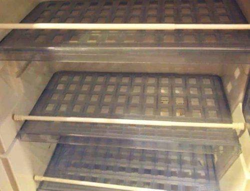 Klemmstangen im Bad, Kühlschrank und Hängeschränken