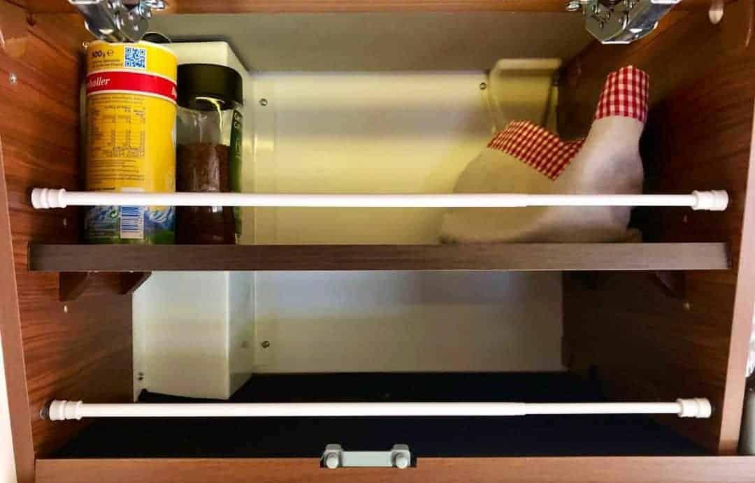 Klemmstangen Küchenschrank e1548519613578