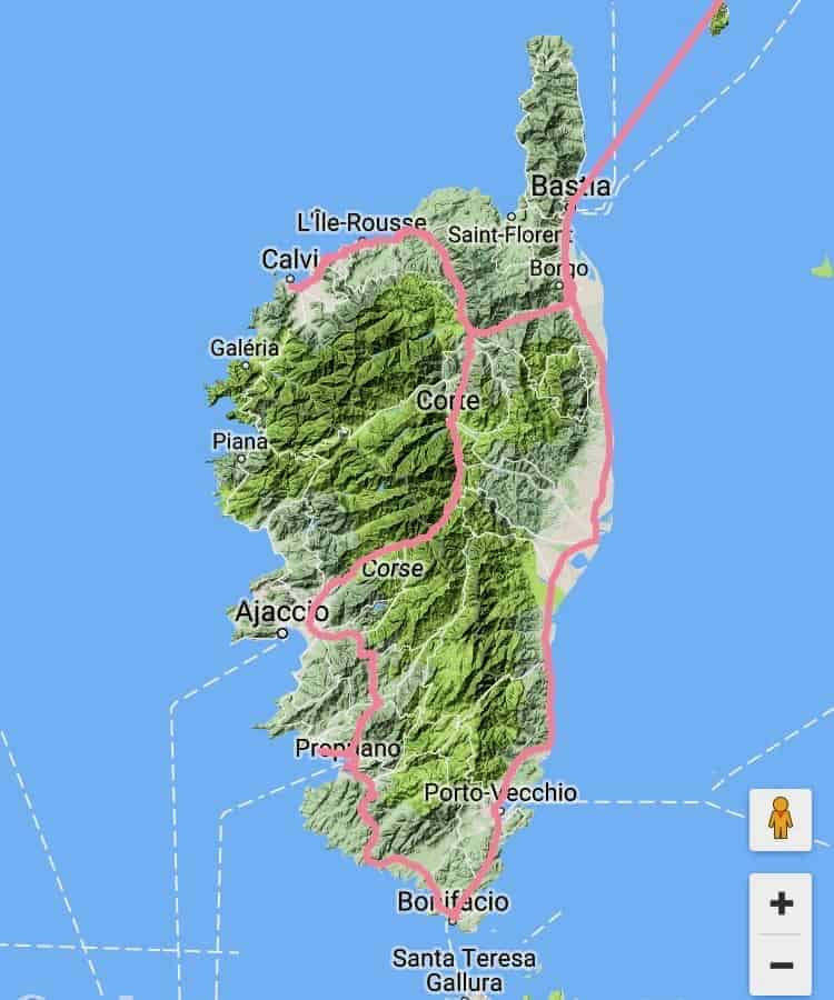 Korsika Tour 2017