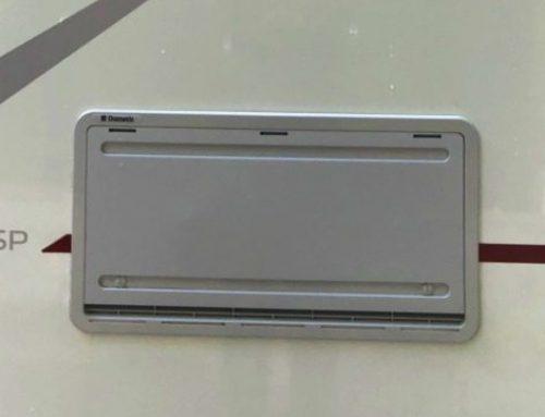 Winterabdeckung Kühlschrank zum Schutz des Aggregats