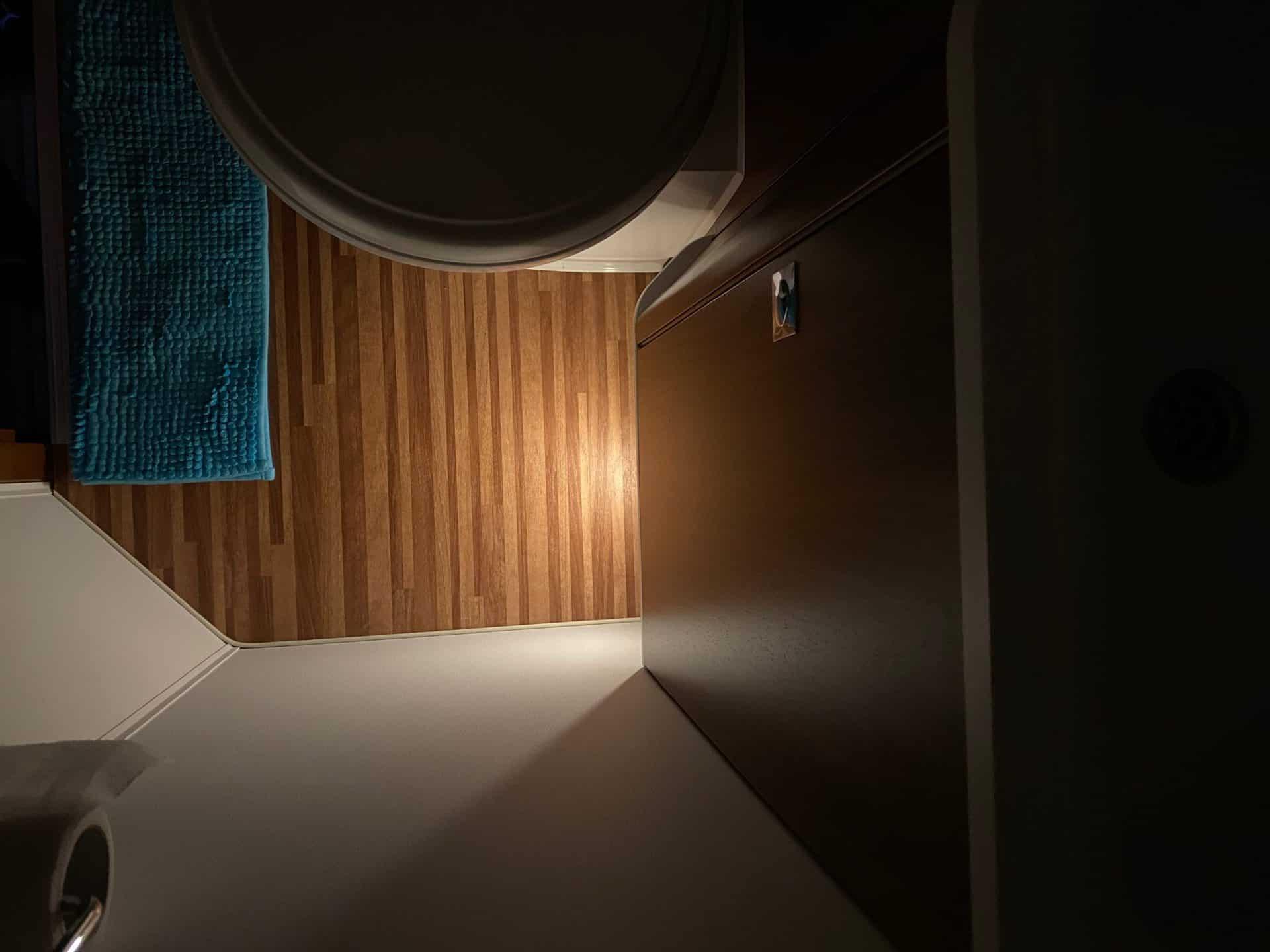 LED-Nachtlicht-eufy-auvon-Badboden-dezent-beleuchten