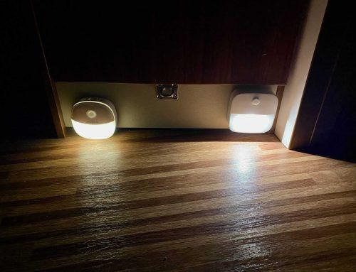 Nachtlicht zur Beleuchtung für Schrank, Fussboden, Kinderbett