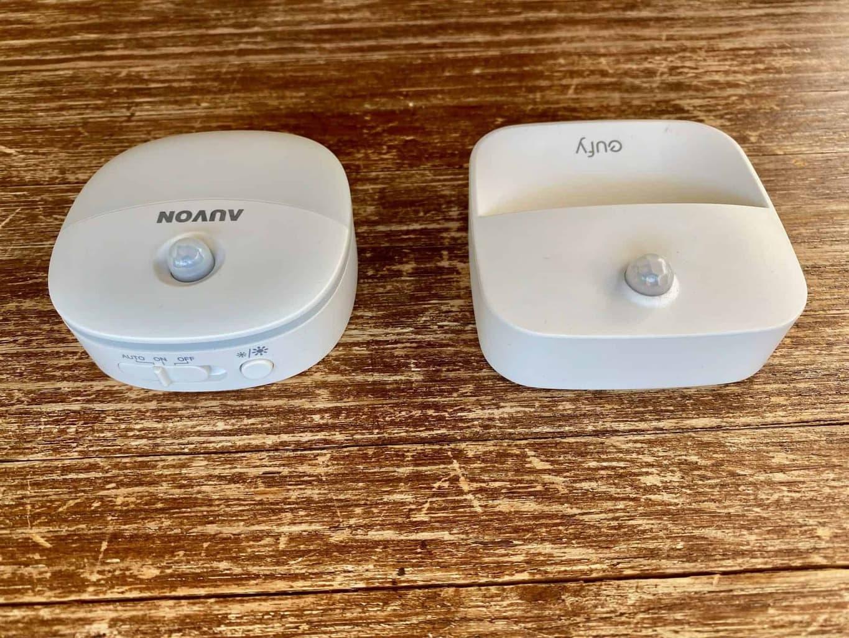 LED-Nachtlicht-eufy-auvon-beiden-Produkte-Seitenansicht-mit-Schalter
