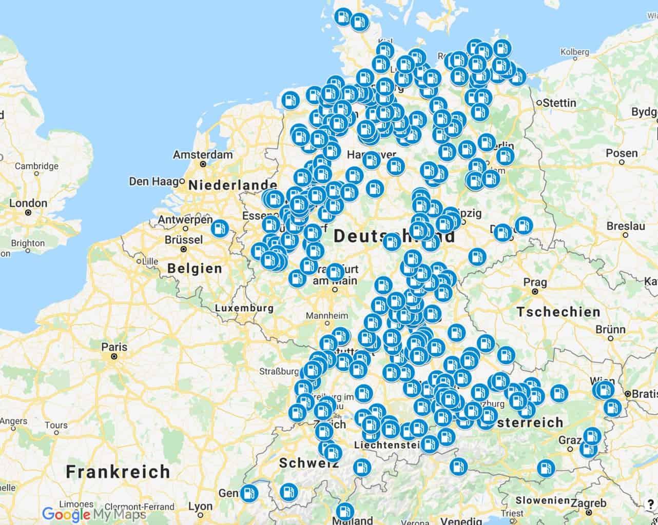 LPG-Tankstellen-Wintergas-LPG-Gas-Übersicht