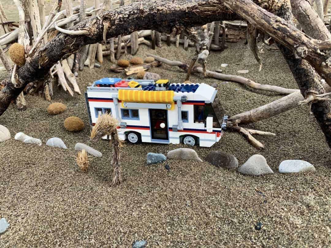 Lego Wohmobil Strand Freicampen