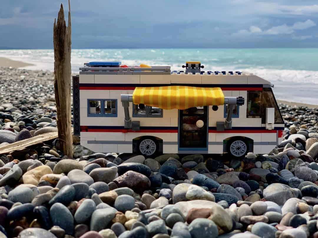 Lego Wohnmobil Toskana Strand Auf Kies