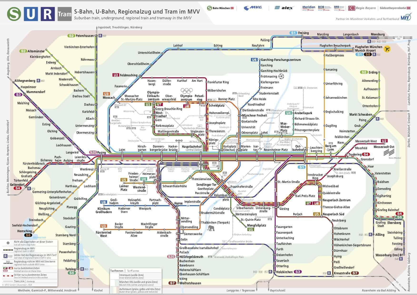 München_Schnellbahnnetzplan