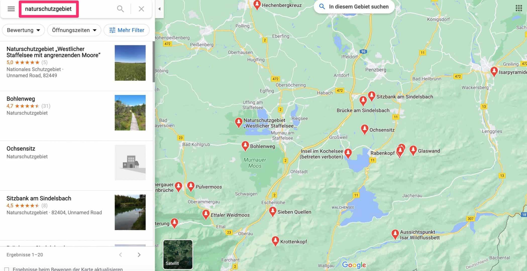 Naturschutzgebiet-suchen-und-finden-Google-Maps