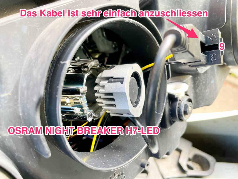 OSRAM-Nighbreaker-H7-LED-Anschluss-Kabel-hinten-Scheinwerfer