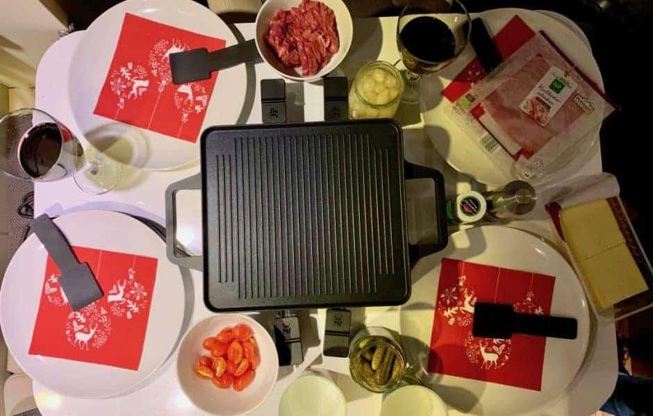 Raclette im Wohnmobil