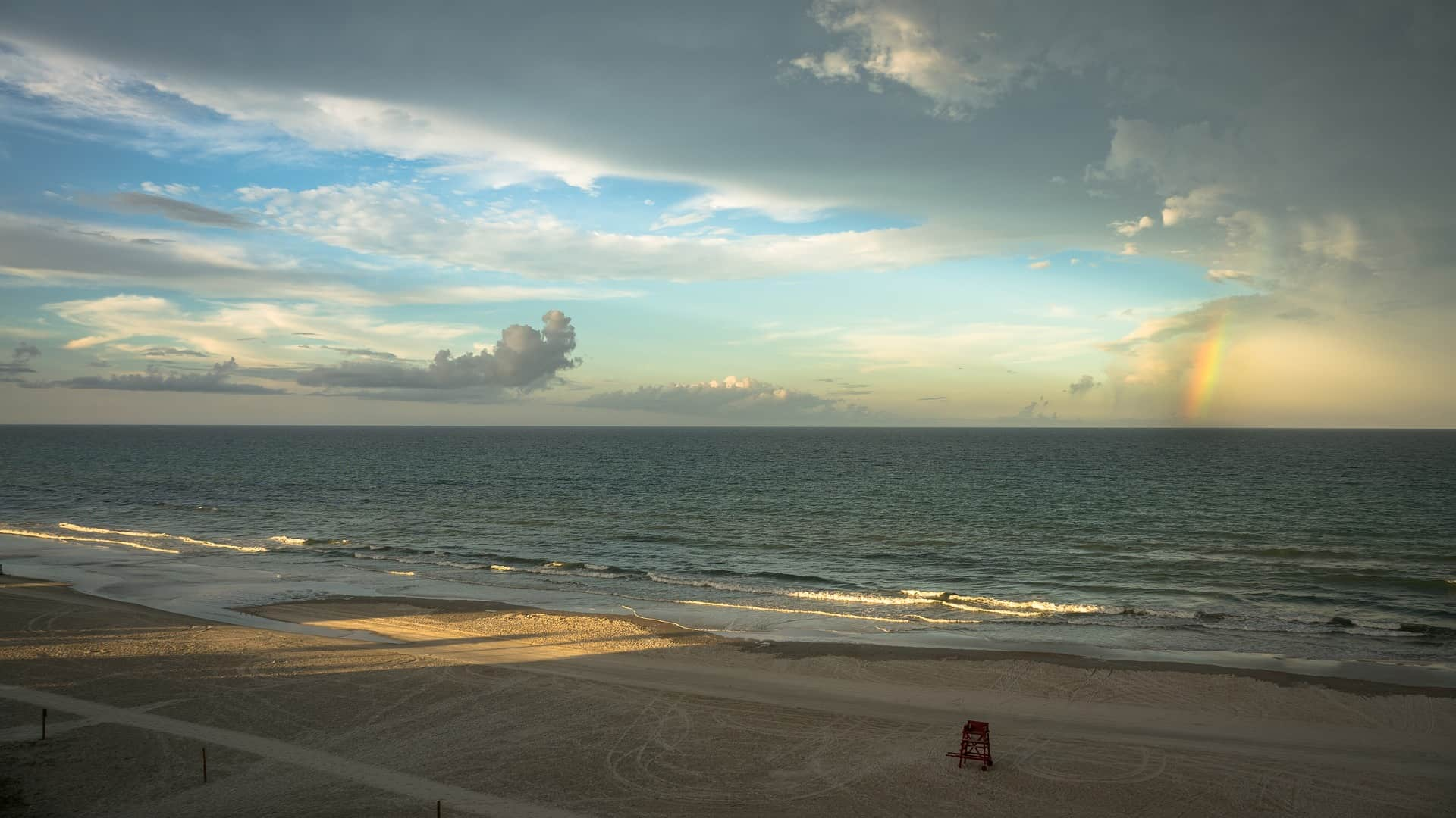 Regenbogen_Sonnenuntergang_Strand