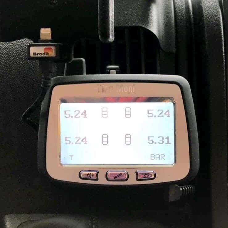 Reifendruck Kontrollsystem TireMoni