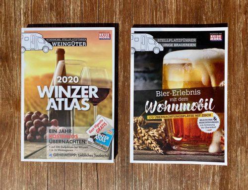 Winzer Atlas & Bier-Erlebnis mit dem Wohnmobil