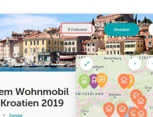 """Die Reisetagebuch-App """"Journi Blog"""""""