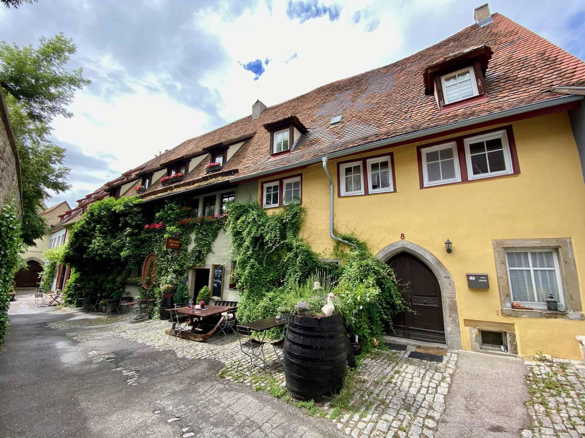 Rothenburg-ob-der-Tauber-Altfränkische-Weinstube