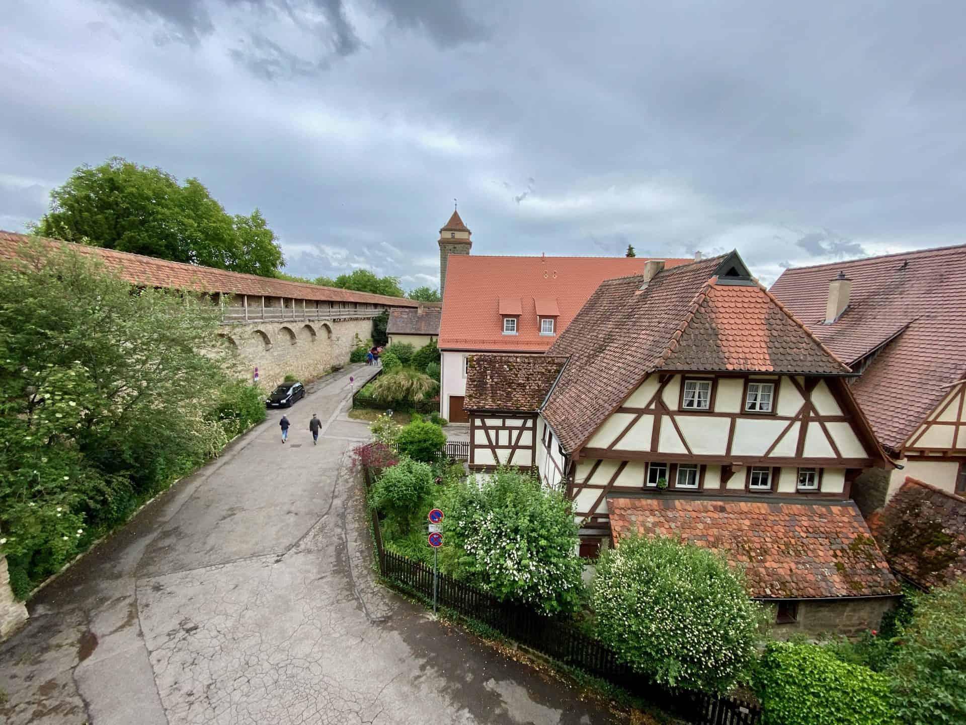 Rothenburg-ob-der-Tauber-Stadtmauer-Nord-Ost