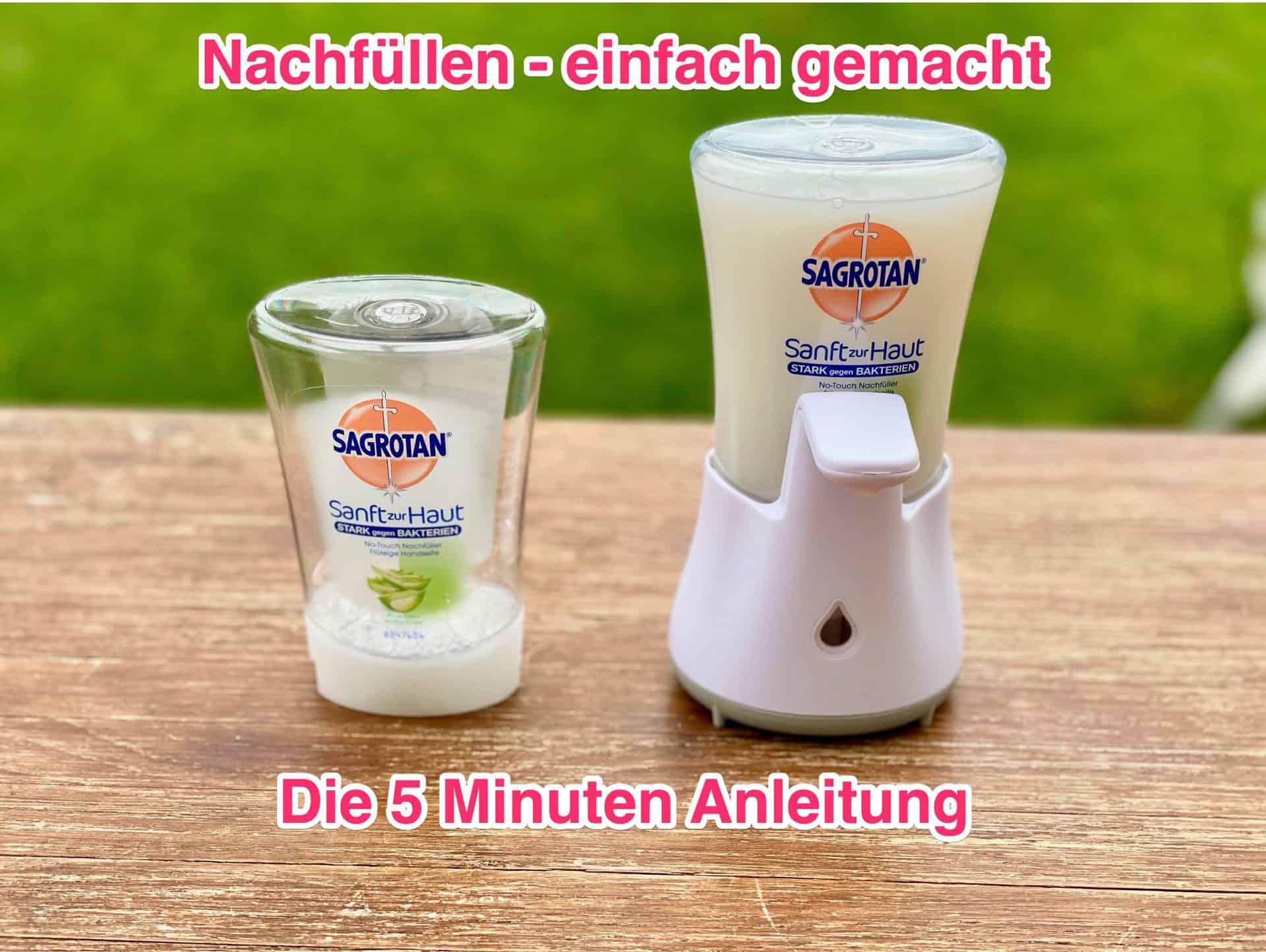 Sagrotan-No-touch-leerer-und-voller-Seifen-Nachfüller_Anleitung