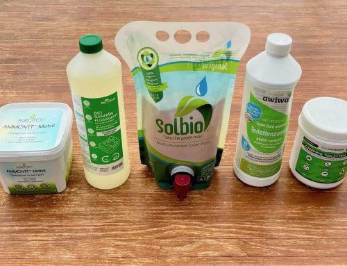 Test ⭐ Ratgeber – Die besten 5 Bio Sanitärflüssigkeiten für Campingtoiletten