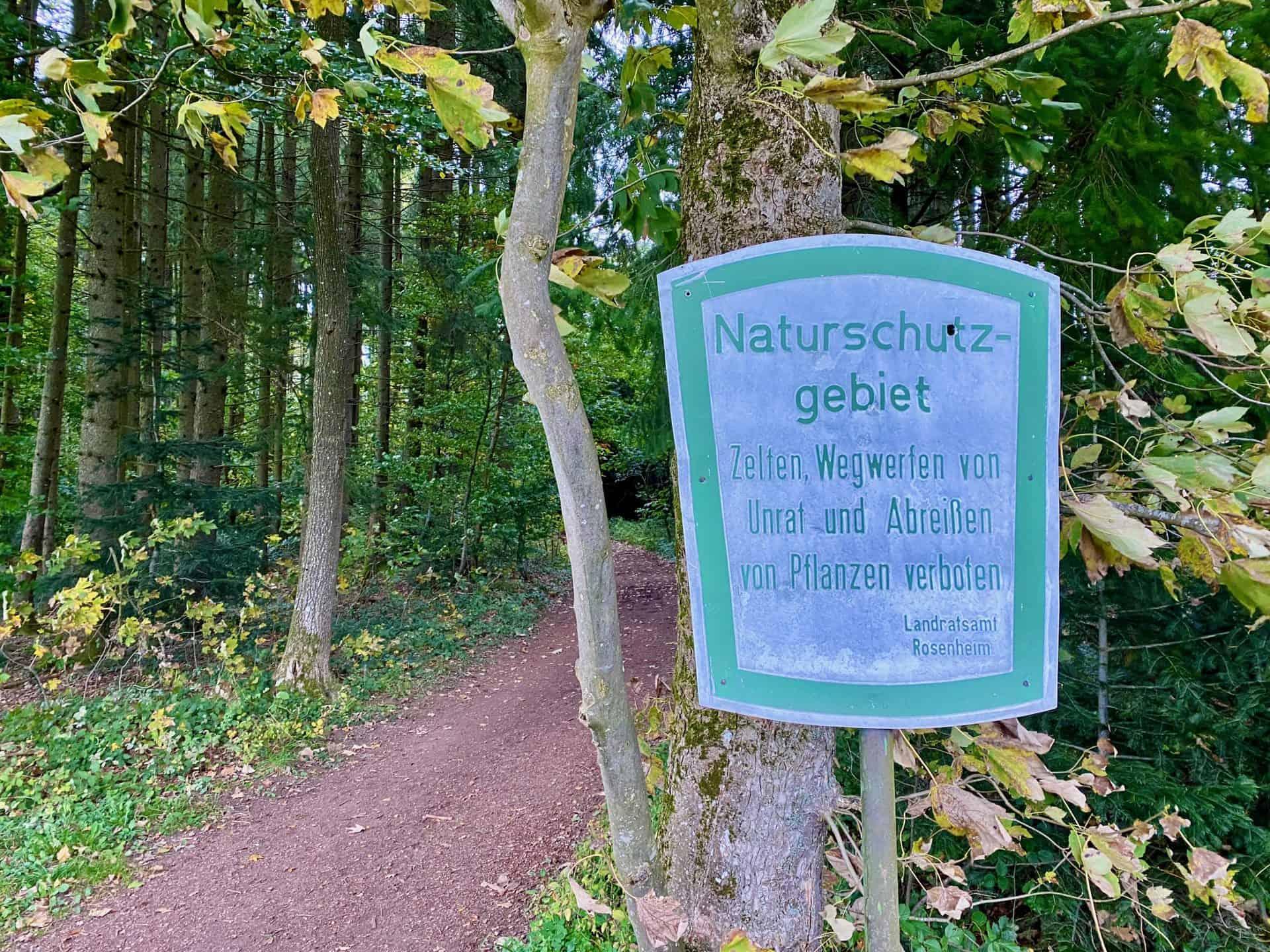 Schild_Naturschutzgebiet_Rosenhein_Land