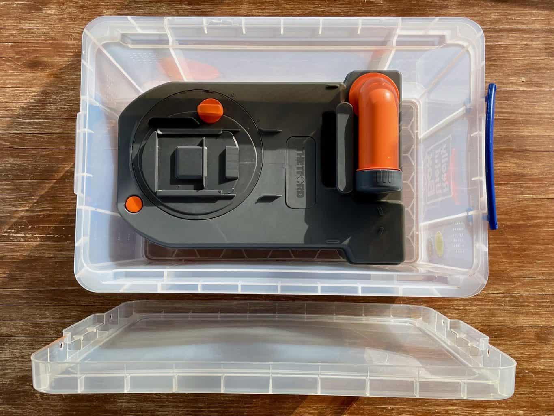 Schwarzwasser-sicher-transportiert-Thetford-C250-Ersatzkassette-in-Kiste