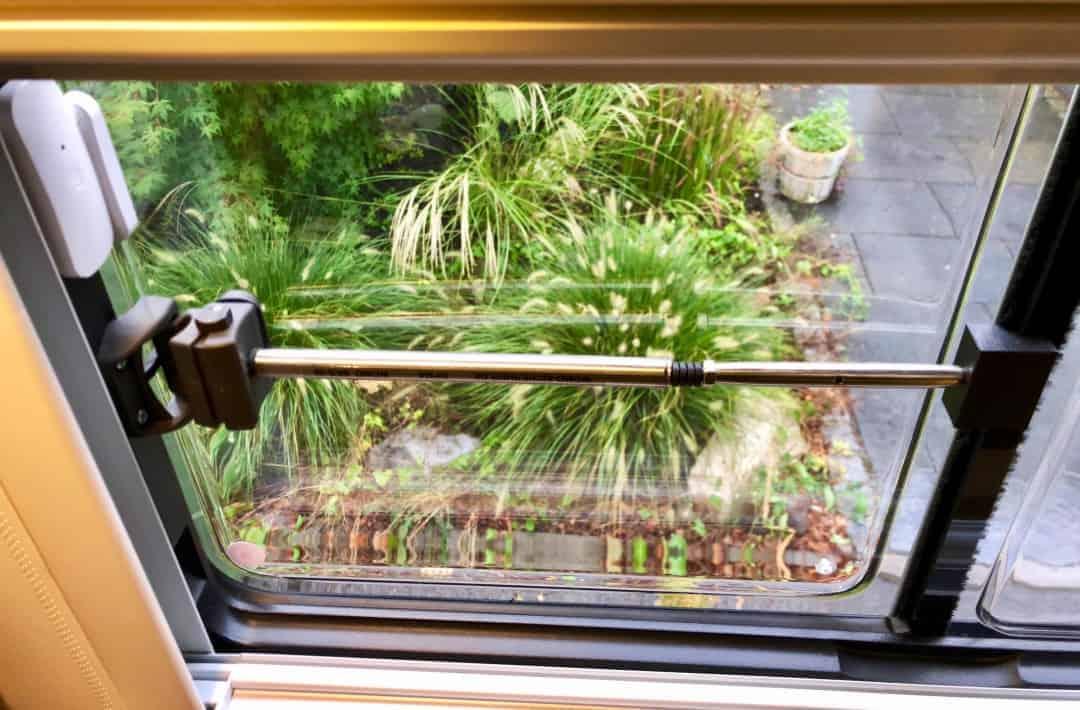 Sicherheitsprofil WoMo sicherheit Klemmstange Seitenfenster