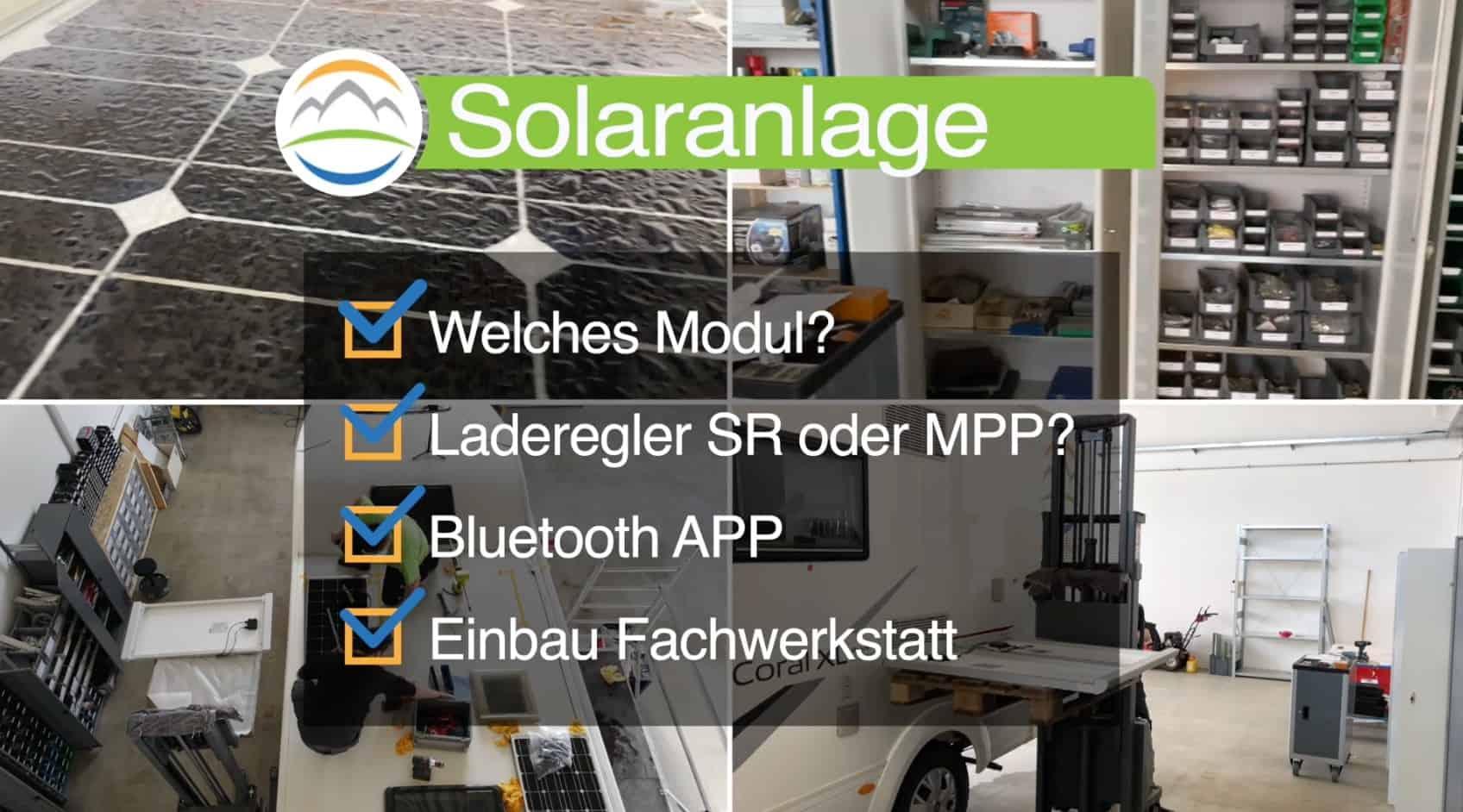Solaranlage-Wohnmobil-Solarmodule-MPP-SR-App-Bluetooth-Einbau-Fachwerkstatt
