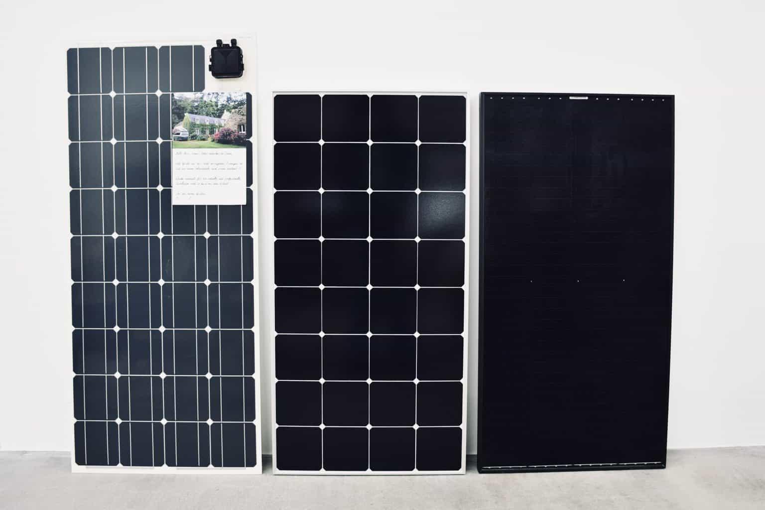 Solarmodul-PV-flexibles-Modul-Rahmen-Modul-CIS-Modul